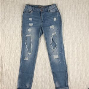Highway distressed jeans
